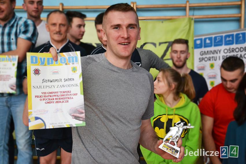 Sławomir Skóra, MVP Turnieju / fot. Jedlicze24